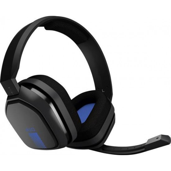 Astro A10 Gaming Headset 3.5 Mm Jack Corded Over-The-Ear Grey, Blue