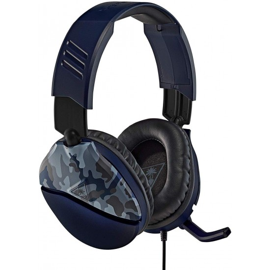 Turtle Beach Ear Force Recon 70 Gaming Headset , Blue Camo (PS4)